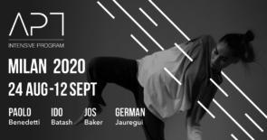 APT Intensive Program — MILANO 2020. International Contemporary Dance Workshop