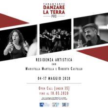 Danzare la terra Pro. Residenza artistica con Maristella Martella e Roberto Castello. Open Call per danzatori, performer e attori under 35