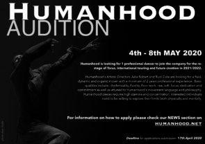 Audizione Humanhood per danzatori (Spagna)