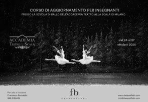 Scuola di ballo Accademia Teatro alla Scala. Corso di aggiornamento insegnanti dal 24 al 27 febbraio 2020