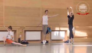 La classe di danza del Teatro Bolshoi