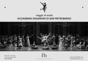 Accademia Vaganova di San Pietroburgo. Viaggio di studio 2021.