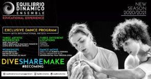Equilibrio Dinamico Ensemble 2020/2021, percorso formativo ideato da Roberta Ferrara