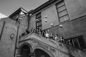 I 14 neodiplomati della Scuola di danza del Teatro dell'Opera di Roma.