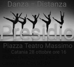 DANZA = DISTANZA. Presidio di oltre 100 scuole di danza a Catania.