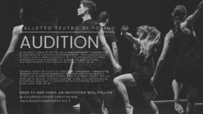 Audizione Balletto Teatro di Torino per danzatori
