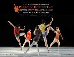 Stage audizione a Roma per l'ammissione al Pôle National Supérieur de Danse Rosella Hightower a Cannes-Mougins per l'anno 2021-2022