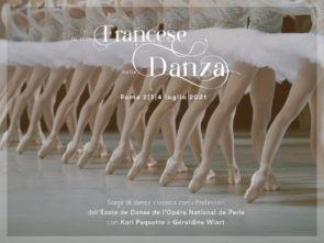 Lo stile francese nella danza. Stage di danza classica con i Professori dell'École de Danse de l'Opéra National de Paris dal 2 al 4 luglio 2021 a Roma