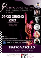Spring Dance Festival 2021. Direzione artistica Rossana Longo e Valerio De Vita