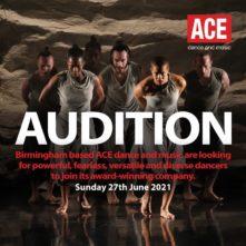 Audizione ACE dance and music (UK)