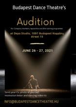 Audizione Budapest Dance Theatre per danzatori, danzatrici e apprendisti (Ungheria)