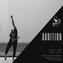 Audizione Sublime Dance Company per danzatori e danzatrici (Portogallo)
