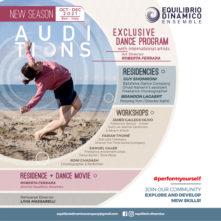 Audizione Equilibrio Dinamico Ensemble, percorso formativo ideato da Roberta Ferrara