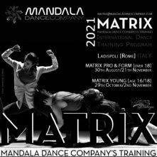 MATRIX Mandala Dance Company's Training Program. AUDITIONS TOUR 2021