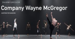 Audizione Wayne McGregor Company per danzatori e danzatrici (UK)