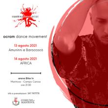 A Mantova Ocram Dance Movement in coreografie di Marco Laudani e Claudio Scalia