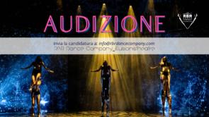 Audizione RBR Dance Company lllusionistheatre per danzatrici e danzatori